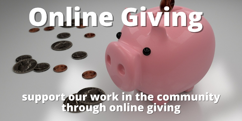 Online Giving Advert